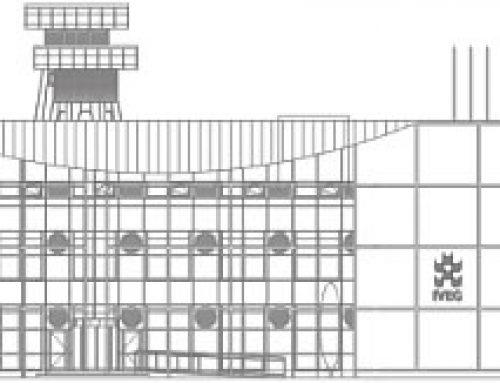 Le bâtiment de la société Iveg