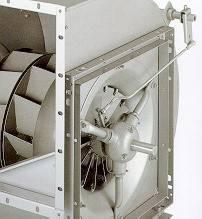 Réglage du débit des ventilateurs