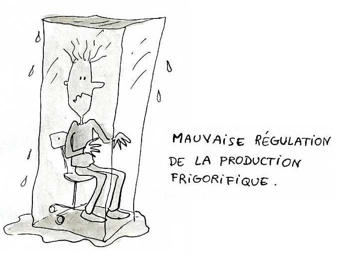 Améliorer la machine frigorifique