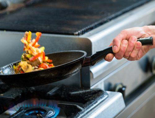 Consommation d'électricité et de combustible en cuisine collective