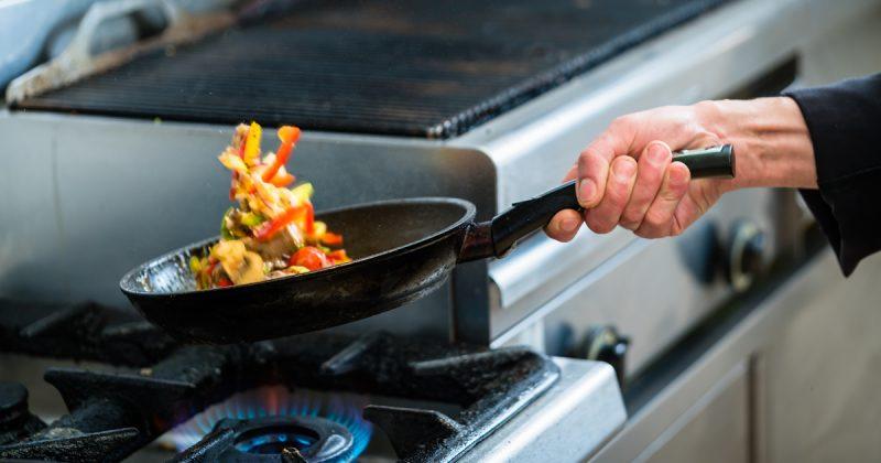Appareils au gaz naturel dans les grandes cuisines