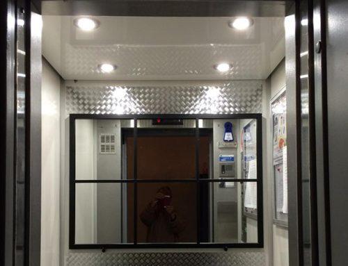 Choisir l'éclairage de la cabine d'ascenseur