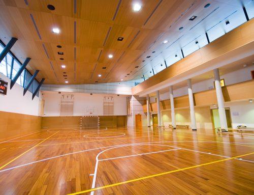 Choisir l'emplacement des luminaires dans les salles de sports