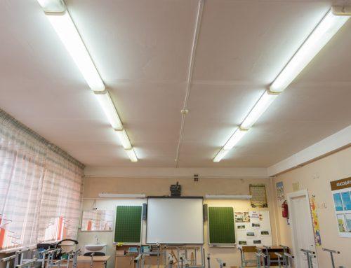 Prescriptions relatives à l'éclairage dans les écoles