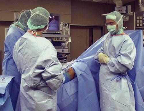Zones à risque de contamination élevé de l'hôpital
