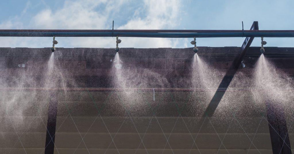 Humidificateurs à pulvérisation d'eau froide