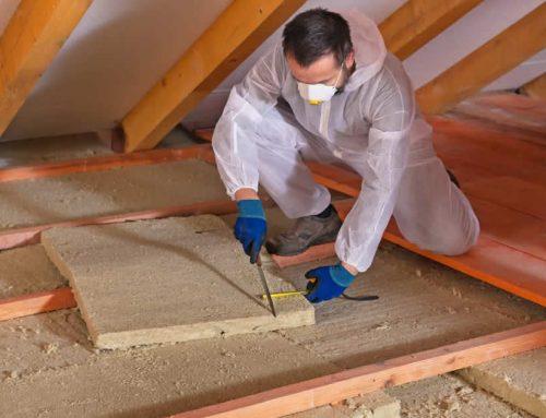 Isoler entre les éléments de structure d'un plancher inférieur [Concevoir]