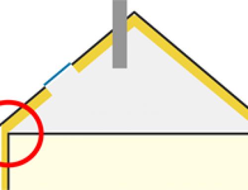 Concevoir le raccord entre le bas du versant isolé et le mur