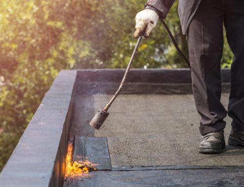 Réparer l'étanchéité d'une toiture plate