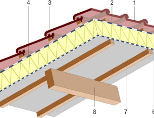 """Isolation par panneaux rigides au-dessus des chevrons ou des fermettes (Toiture """"Sarking"""")"""