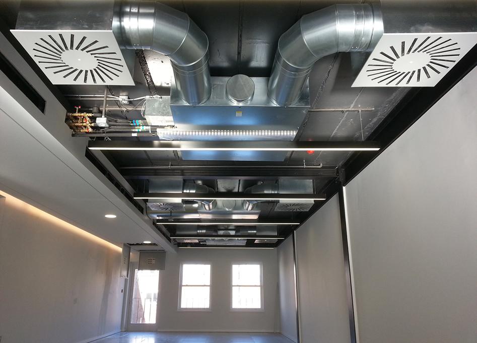 Puissance électrique d'un système de ventilation