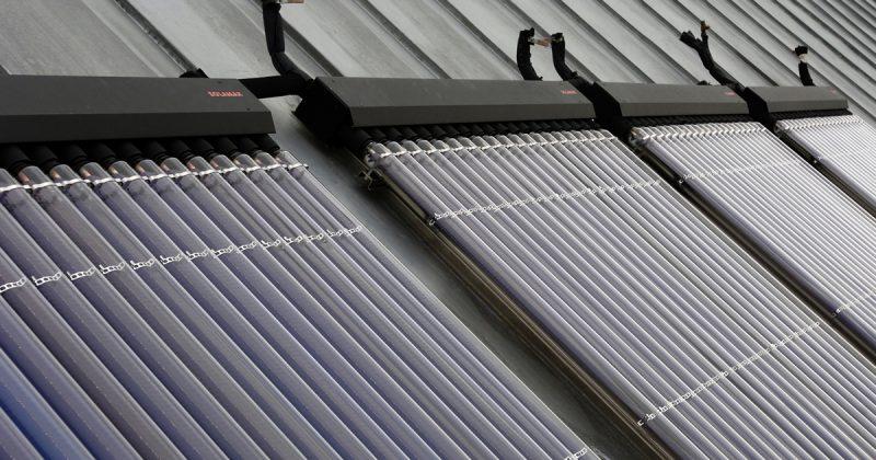 Capteur solaire à eau chaude