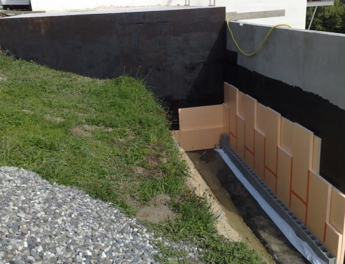 Mur enterré
