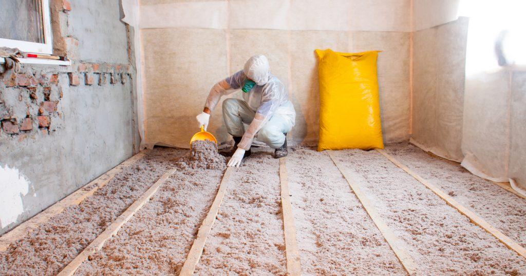 Modèles d'isolation - plancher lourd sans aire de foulée