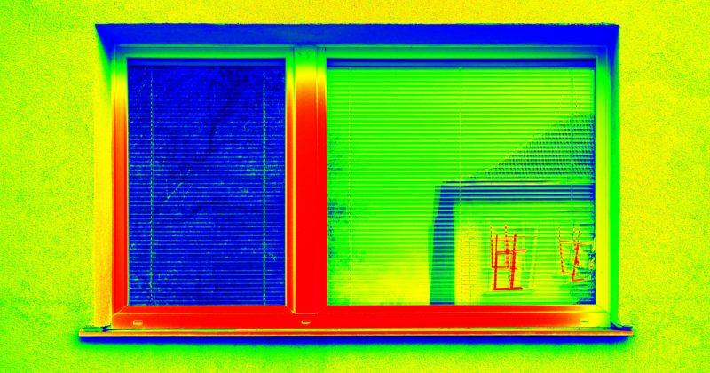 Coefficient de transmission thermique linéique des jonctions entre profilés d'encadrement et vitrages