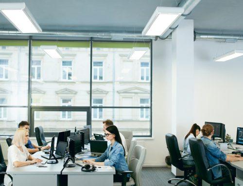 Flexibilité des plateaux de bureaux