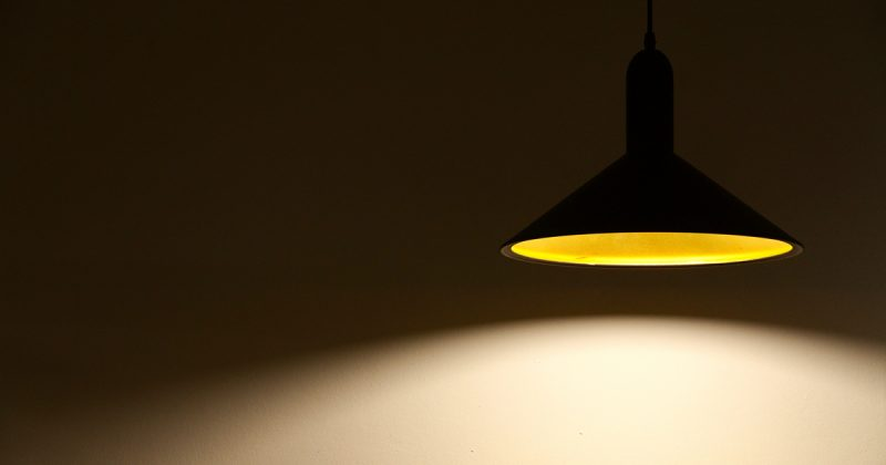 Distribution lumineuse d'un luminaire