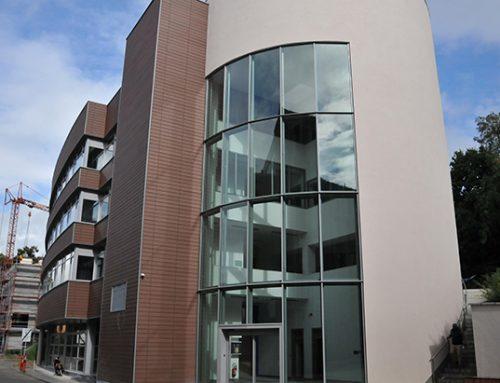 Ventilation de l'antenne communale de Louvain-la-Neuve
