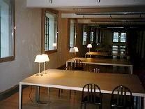 Photo éclairage salle de lecture.