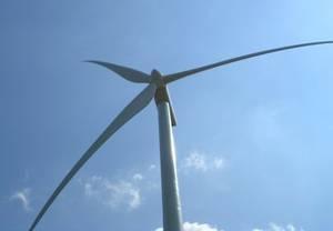 Photo éolienne.