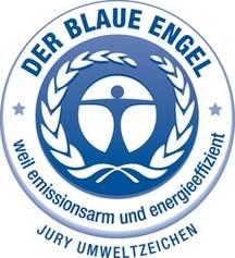 Logo label Ange Bleu.