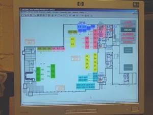 Photo écran de Gestion Technique Centralisée.