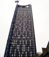 Photo éoliennes intégrées au bâtiment - 01.