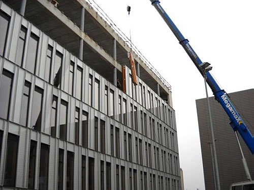 Photo façade rideau AEROPOLIS II