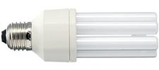 Photo lampe fluocompacte.