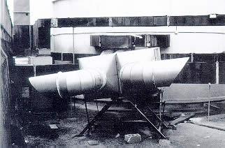 Photo système de conditionnement d'air d'une discothèque.