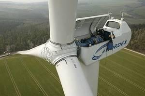 Photo principe éoliennes à axe horizontal ou vertical.