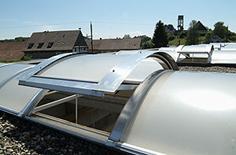 Photo ouvertures de toiture.