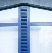 Photo ouvertures en façade.