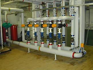 Photo circuit hydraulique associé aux hydro-éjecteurs.