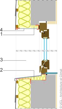 Schéma isolation seuil et linteau - 02.