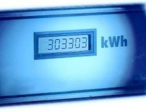 Le tableau de bord, consommation d'électricité
