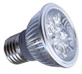 Lampe LED.