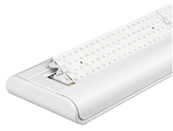 Photo luminaire plafonnier composé d'une multitude de LED.