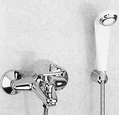 Photo mitigeur mécanique de douche