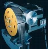 Photo moteur à courant alternatif asynchrone.