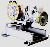 Photo moteurs-treuils à vis sans fin à une ou deux vitesses.