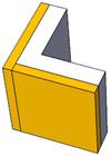 Schéma jonction directe des couches isolantes.