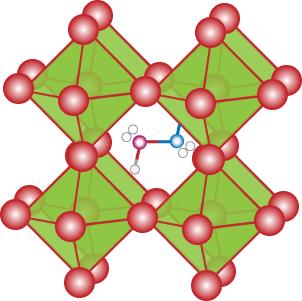 Schéma cellules Pérovskites.