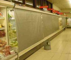 Photo protections de nuit meuble frigorifique - 01.