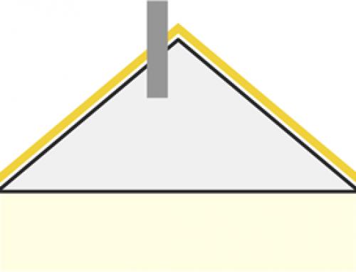 Aperçu des modèles d'isolation de l'espace protégé [Enveloppe – toiture inclinée]