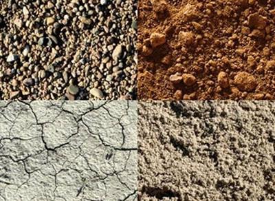 Potentiel du sol, minéraux.