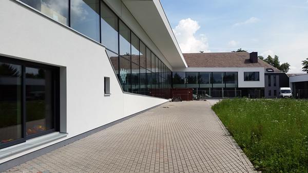 L'école de Bütgenbach après les travaux.