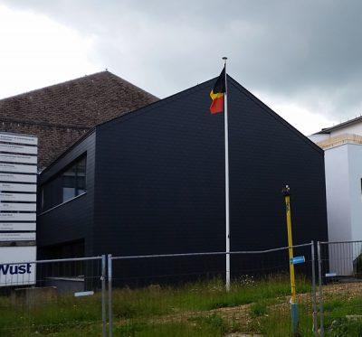 Photo de la façade façade isolée terminée.