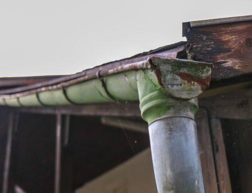 Oxydation des accessoires de toiture