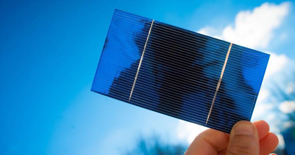 Rendement et puissance crête des cellules photovoltaïques